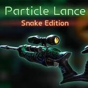 Particle lance snake