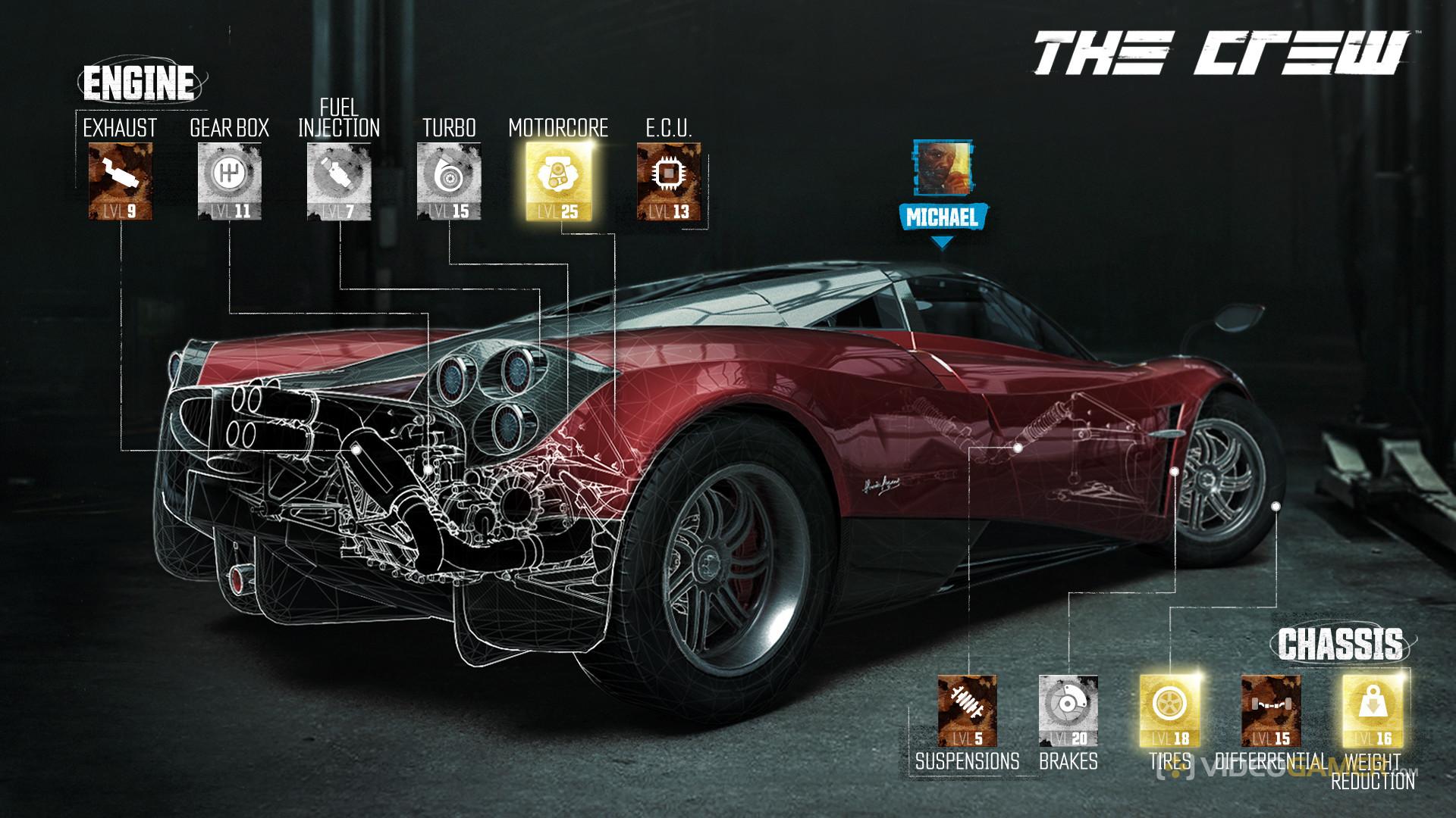 Car Engine Customizing Games