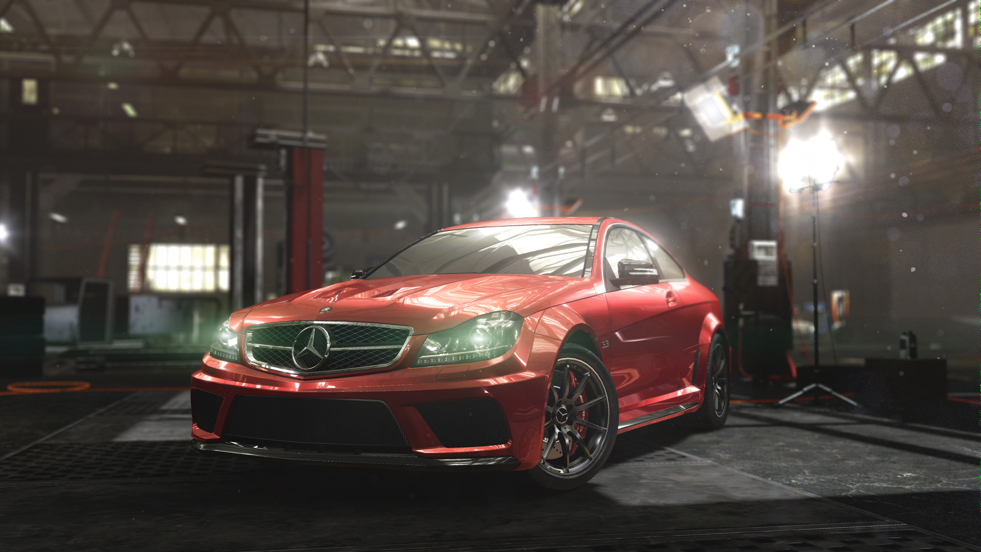 Mercedes Benz C63 Amg Coupe Black Series Ubisoft S The