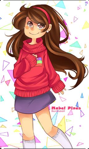 File:Mabel pines by banirabbit-d5lfp4q.png
