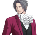 Miles Edgeworth (Rebun's AU)