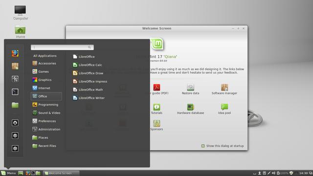 File:Linux Mint 17 (Qiana) Cinnamon.png