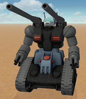 RX-75 Guntank Black Color