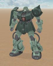 MS-06FZ Type B Zaku 2
