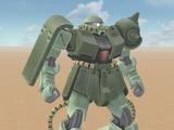 MS-06FZ Zaku 2 A + B