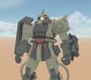 MS-06D Zaku Desert Type A + B