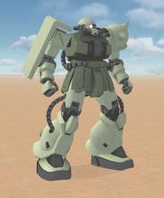 MS-06F2 Type A Zaku 2