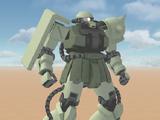 MS-06F2 Zaku 2 F2 A + B Type
