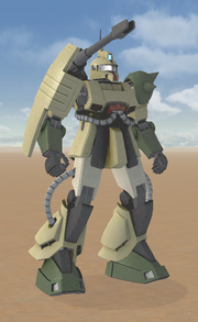 MS-06K Type A Zaku Cannon