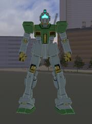 RGM-79 GM green