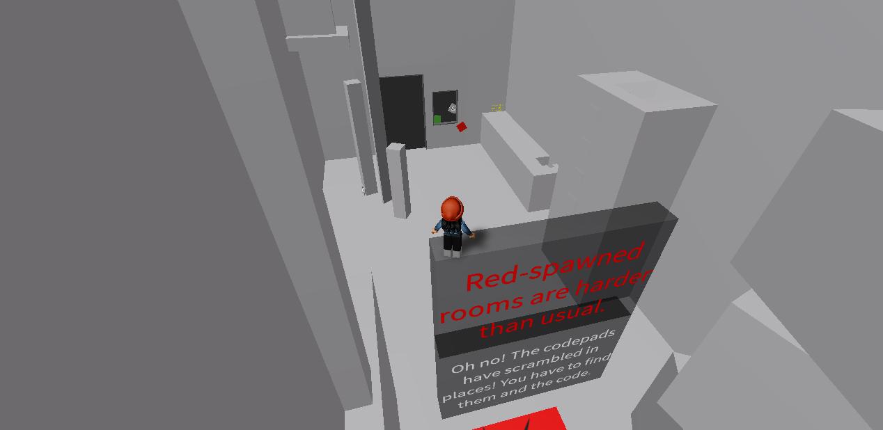 Red Brick Color Code Roblox Room 18 Untitled Door Game Wiki Fandom