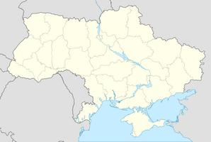 Ukraine location map