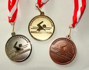 2012 DVM medaljer
