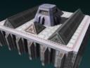 Al icon building aqueduct ending