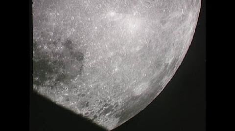 """Apollo 8 - TEI - """"There Is A Santa Claus"""" (12 00 begins saying)"""