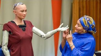 'Sophia' the robot tells UN 'I am here to help humanity create the future'