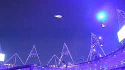UFO ON OLYMPIC GAMES OPENING CEREMONY IN LONDON (2012)