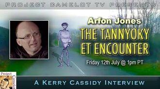 ARFON JONES TANNYOKY ET ENCOUNTER IRELAND UFO
