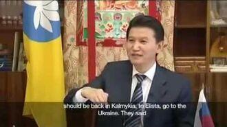 President Kirsan Ilyumzhinov talks about his Alien Abduction