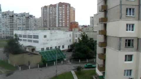 Strange sound in Kiev again Aug.11.11. Опять странный звук в Киеве 11.08