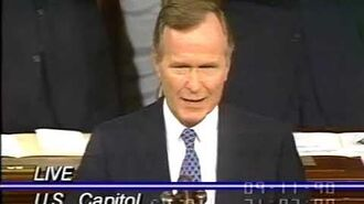 "George H. W. Bush, Sept 11, 1990 ""Address Before a Joint Session"" speech"