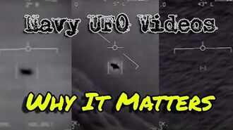 Why The OFFICIAL Release Of Navy UFO Videos Actually Means Something