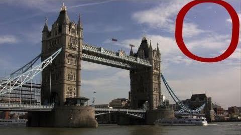 UFOs Over London Friday 2011 - UFO fleet over Tower Bridge London 6 24 2011