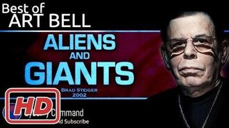 Art Bell Aliens and Giants; interview with Brad Steiger