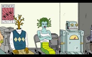 Rick, Medusa, Erik
