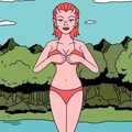 Callie Maggotbone in Bikini