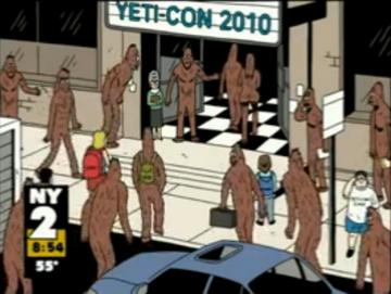 Yetis at Yeti-Con 2010 on NY2