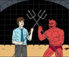 Mark vs Twayne blood court