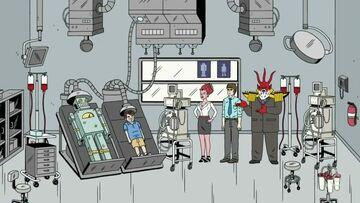Fantasy lab - Erik, Callie, Mark, Aldermach 2x07