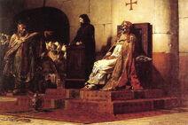 Jean Paul Laurens Le Pape Formose et Etienne VII 1870