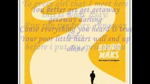 Bruno Mars - Runaway Baby (WITH LYRICS)