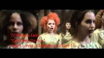 Official UK Singles Chart Top 100 - Week ending 7th June 2014 - 51 to 100