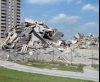 Milldane demolitions 2002 aftermath