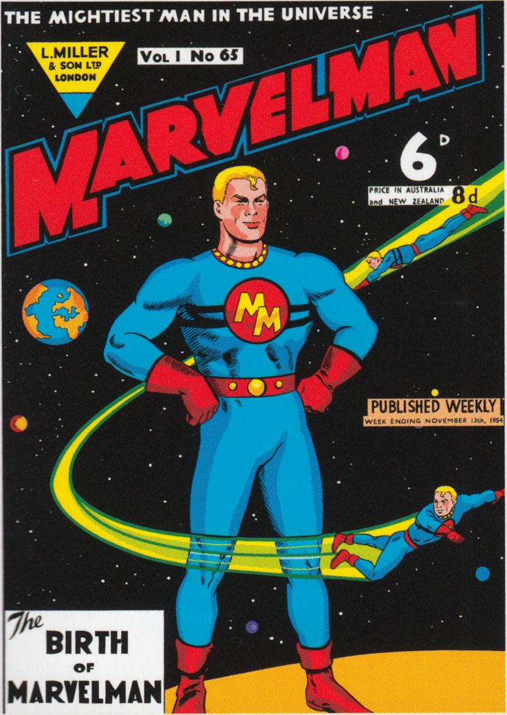 Marvelman | UK Comics Wiki | FANDOM powered by Wikia