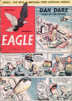 Eagle 1950 issue 1 front page