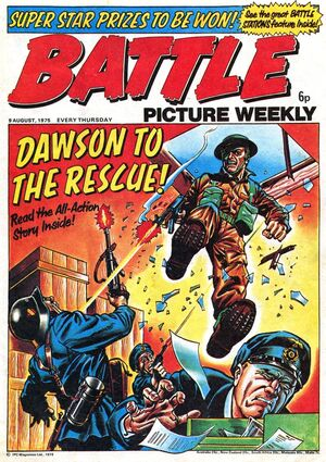 BattlePictureWeekly9August1975cover