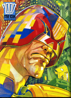 Ron Smith Judge Dredd