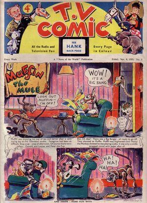Cc014 TV Comic No1