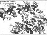 The Jocks and the Geordies