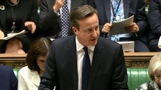 Prime Minister's Questions 24 June 2015