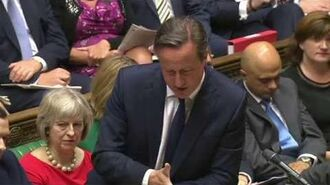 Prime Minister's Questions 8 July 2015
