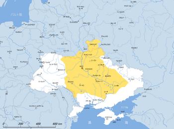 Ukraine-Little Rus 1654