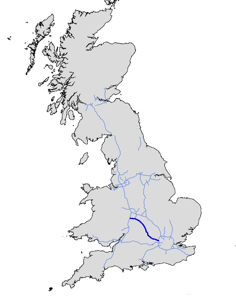 Map Of M40 M40   UK Roads   FANDOM powered by Wikia