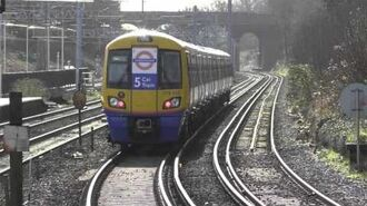 London Overground 378222 5 Car Train Departing Bushey-0