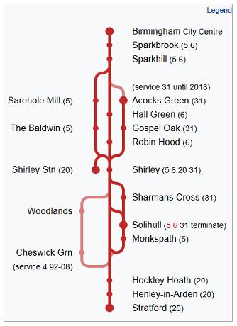 Stratford Rd route diagram 3