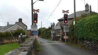 Minffordd Level Crossing